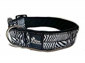 Pre zvieratká - Obojok Dinofashion Zebra - 10243402_