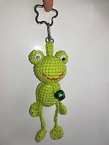 Kľúčenky - Kľúčenka žabka - 10242962_