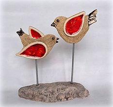Dekorácie - Keramická dekorácia - DVAJA - 10242130_
