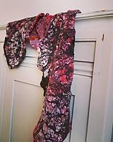 Dámsky obojstranný vlnený šál -