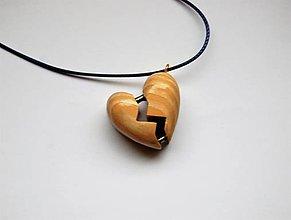 Náhrdelníky - Náhrdelník - Pulz srdca - 10243708_