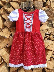 Detské oblečenie - Detské folklórne šaty Božka - 10243270_