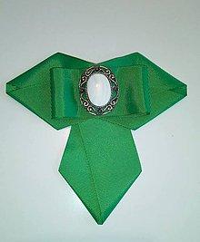 Iné doplnky - Dámska brošňa zelená - 10242645_