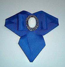 Iné doplnky - Dámska brošňa kr.modrá - 10242677_