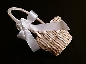 Košíky - košíček pre družičku - 10241981_