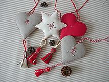 Dekorácie - Vianočné ozdoby - 10244113_