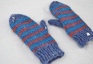Rukavice - Hrubé rukavice z ovčej vlny a alpaky - 10246807_