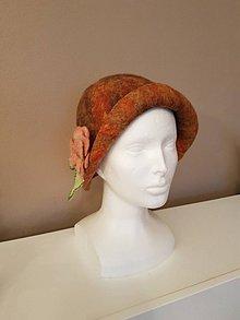 Čiapky - Plstený klobúk - JESEŇ - 10245808_