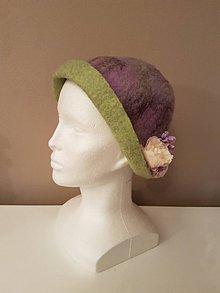 Čiapky - Plstený klobúk - NEŽNÝ - 10245821_