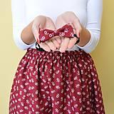 Sukne - Set sukňa a motýlik - mama a syn , mamina a synček - 10245344_