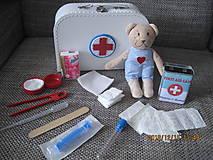 Hračky - Doktorsky kufrik pre deti - plny - 10244999_