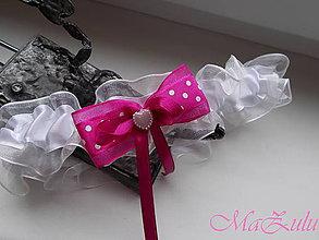 Bielizeň/Plavky - Svadobný podväzok - 10246855_