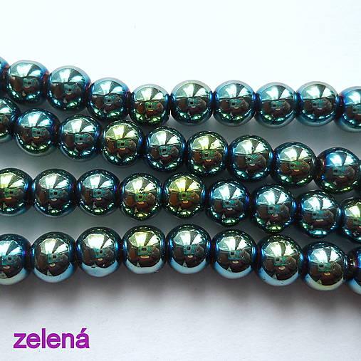 CrystaLine Beads™-6mm-1ks (zelená)