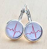 Náušnice - EKG krivka 2 - 10244954_