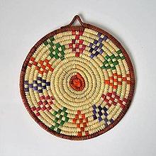 Dekorácie - Ručne pletená podložka z palmových listov - Oriental - 10245898_