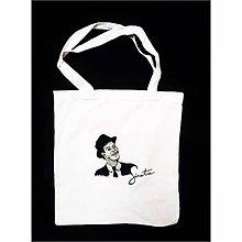 Nákupné tašky - Maľovaná taška - 10246822_