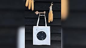 Iné tašky - ♥ Plátená, ručne maľovaná taška ♥ - 10246727_
