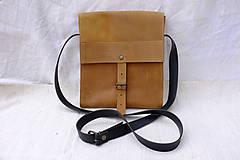 Kabelky - Kožená taška urban - 10245798_