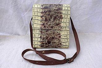 Kabelky - Kožená taška urban - 10245807_