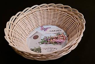 Košíky - Košíček GARDEN - 10246851_