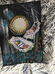 Kresby - Ked vtáčatá spievajú. - 10245198_