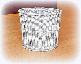 Košíky - Košík - kryt na stojan vianočného stromčeka  prieme 30 cm - 10244754_