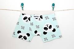 """Detské oblečenie - Chlapčenské Boxerky """"Panda II.""""  - 10246712_"""