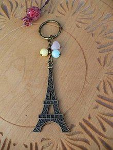 Kľúčenky - kľúčenka pre milovníčky Paríža - 10246440_