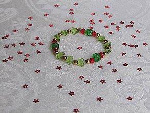 Náramky - Vianočný náramok VI - 10244816_