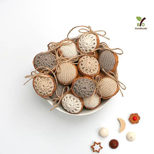 Obrovské orechy (100% biobavlna, 10 ks)