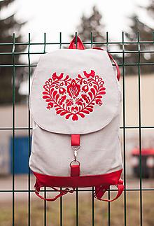 Batohy - Ruksak Red heart - 10247884_