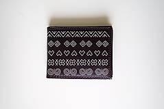 Tašky - FOLK pánska peňaženka - 10247096_
