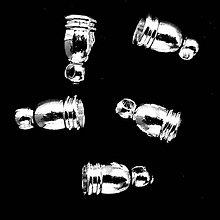 Komponenty - Koncovka kovová-strieb-1ks - 10248790_