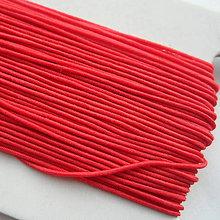 Galantéria - Guľatá guma 0,8mm-1m - 10249136_