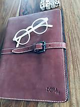 Na notebook - Kožený obal na MacBook Air 13, dokumenty veľkosti A4, vizitky a perá - 10249387_