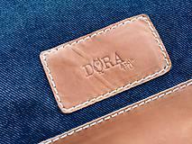 Batohy - Riflový ruksak s koženými detailami - 10249478_