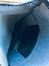 Batohy - Riflový ruksak s koženými detailami - 10249480_