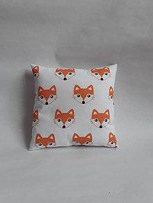 Textil - Vankúšik - mini - líška - 10247543_