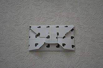 Papiernictvo - Obálka na označenie darčeka - 10248633_