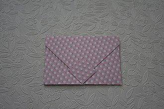 Papiernictvo - Obálka na označenie darčeka - 10248656_