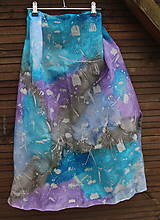 silk scarf_hodvábna šatka_colourful