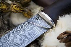 """Nože - Damaškový nôž """"Strieborný dub"""" - 10247095_"""