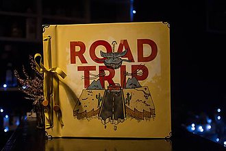 Papiernictvo - Fotoalbum klasický polyetylénový obal s potlačou Road trip - 10248356_