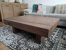 Nábytok - Dubový stôl 2 - 10249017_