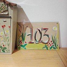 Tabuľky - číslo domu - 10247300_