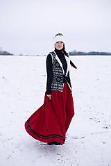 Sukne - sukňa - As red wine - 10248734_