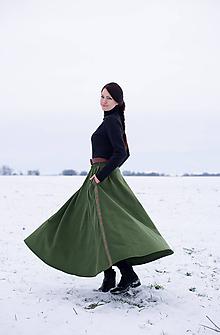 Sukne - sukňa Evergreen - 10248713_