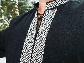 Oblečenie - Ľanová košeľa pre pánov - ZIMA - 10248872_