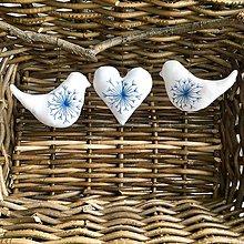 Darčeky pre svadobčanov - Ručne vyšivane Ozdobky - 10247740_