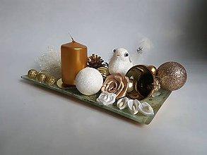Svietidlá a sviečky - Vianočný svietnik 1 - 10248002_